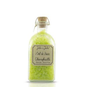 corpo bello jules & julie sel de bain 250g chèvrefeuille