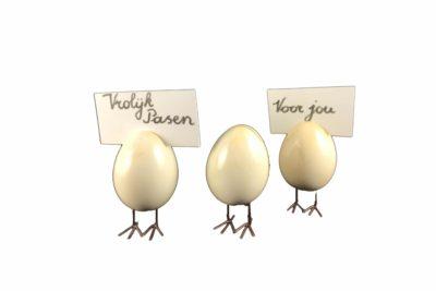 Naamkaartjeshouder In De Vorm Van Een Ei